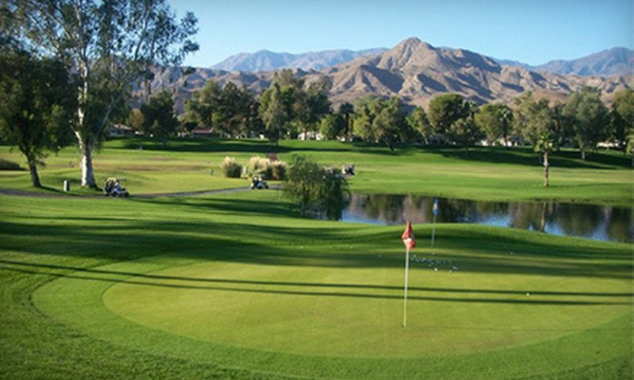 Cathedral Canyon Golf Club - Cathedral City: $59 for Two 18-Hole Rounds of Golf Including Cart at Cathedral Canyon Golf Club (Up to $198 Value)