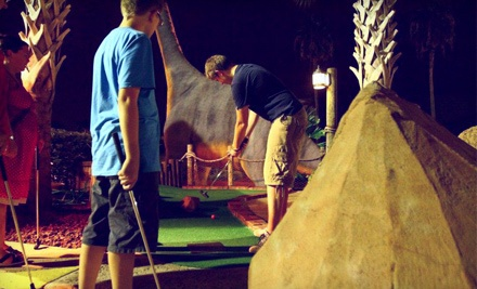 18 Holes of Mini Golf for Two (a $30 value) - Volcano Island Minature Golf in Orlando