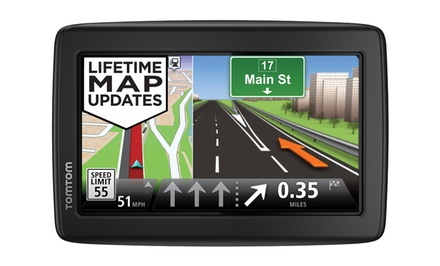 TomTom VIA Portable GPS (Manufacturer Refurbished). Multiple Models Available from $69.99–$74.99. Free Returns.