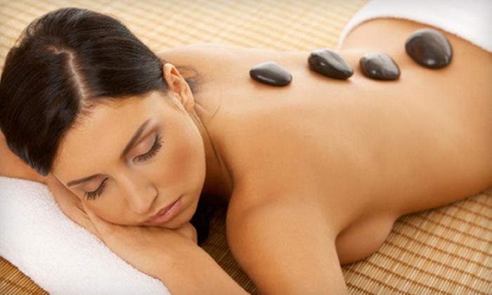 Green Leaf Massage Center - Arvada: 60- or 90-Minute Hot-Stone or Aromatherapy Massage at Green Leaf Massage Center (Up to 53% Off)