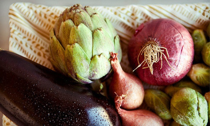 Organics of Naples - Naples: One or Four Boxes of Organic Produce from Organics of Naples (Up to 51% Off)