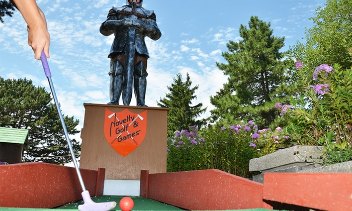 Novelty Golf & Game Room - Far North Side: Miniature Golf for Two or Four at Novelty Golf & Games (Up to 50%)