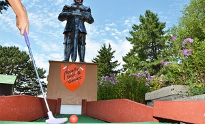 Novelty Golf & Game Room: Miniature Golf for Two or Four at Novelty Golf & Games (Up to 50%)
