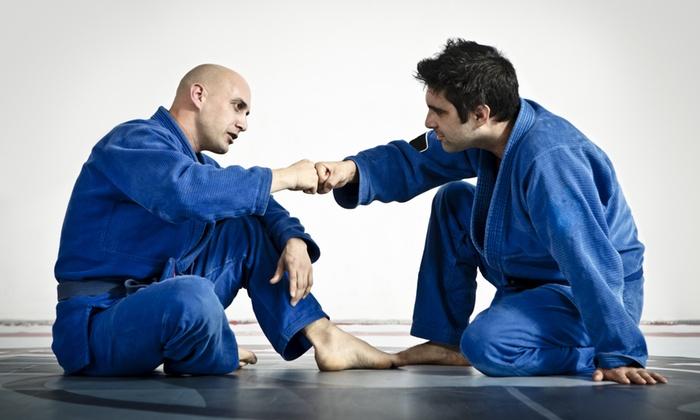 Kompound Training Center - Multiple Locations: 3 or 5 Brazilian Jiu Jitsu and MMA Classes at Kompound Training Center (Up to 53% Off)