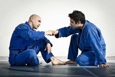 3 or 5 Brazilian Jiu Jitsu and MMA Classes at Kompound Training Center (Up to 56% Off)