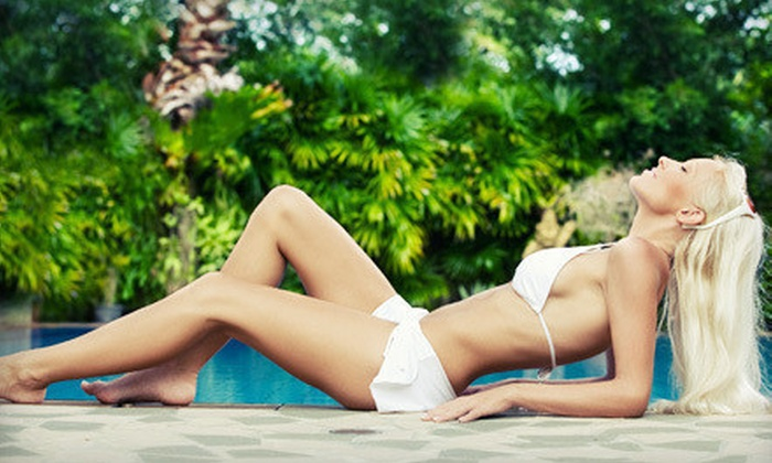 LimeSun Tanning Salon - Los Angeles: Two or Four Mystic Spray Tans at LimeSun Tanning Salon (Up to 73% Off)