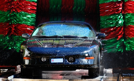 Express or Premium Wash Monthly Pass at River Park Express Car Wash (Up to 40% Off)