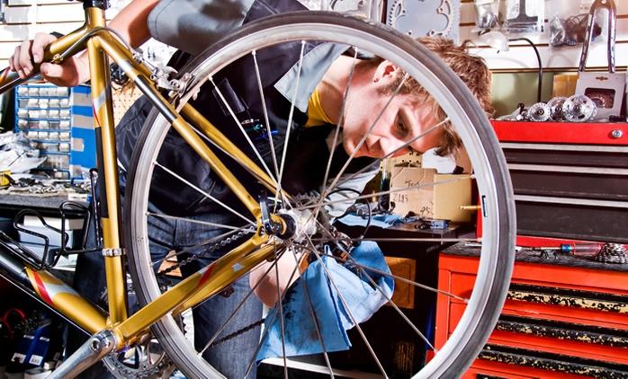 1 oder 2 Fahrradinspektionen inklusive Kleinreparaturen in der Fahrrad Garage ab 14,90 € (bis zu 69% sparen*)
