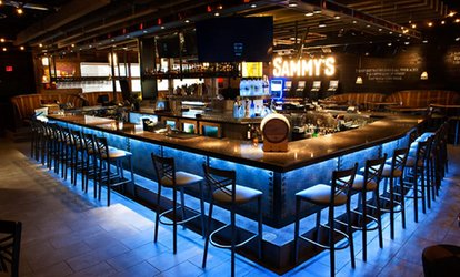 $25 or $50 Toward Upscale <strong>Pub</strong> Food at Sammy's Original (Up to 40% Off)