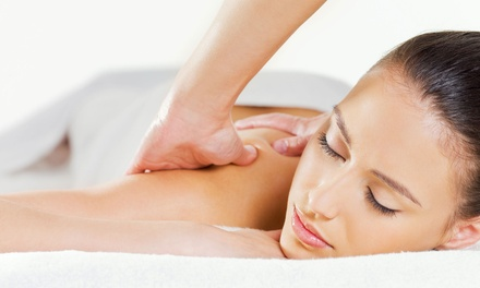 Deep-Tissue, Swedish, or Hot-Stone Massage with Optional Express Facial at Acacia Spa (Up to 73% Off)