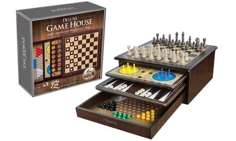 Giochi da tavolo 10 in 1 in legno