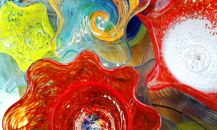 Central Glass Works - Sequoia Park: Two-Hour Glassblowing Workshop for Two or Four at Central Glass Works (50% Off)