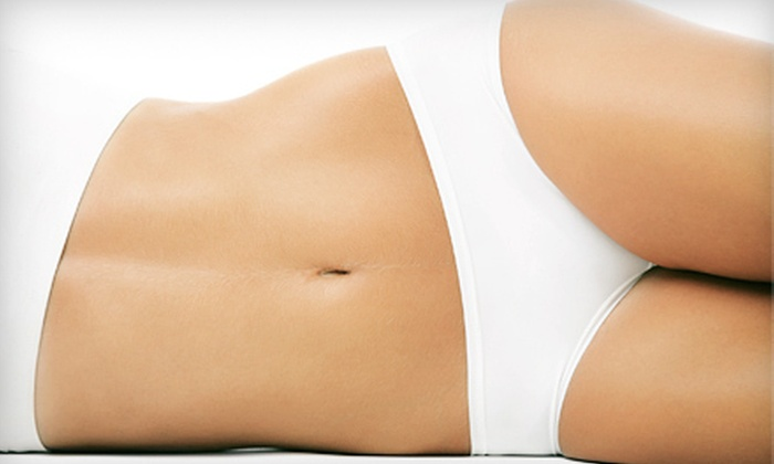 Infinity Day Spa - Club Fitness NY: 4, 8, or 10 Ultrasonic-Cavitation Liposuction Treatments at Infinity Day Spa (Up to 85% Off)