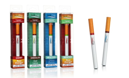 6-Pack of NutriCig Energy, Slim, or Sleep Fortified E-Cigarettes from NutriCig. Multiple Flavors Available.