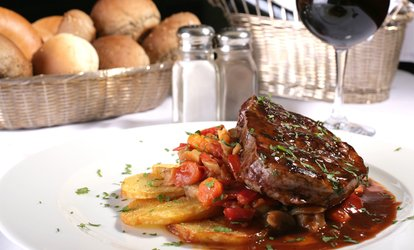image for Two-Course Meal with Wine for Two or Four at Ring 'O' Bells (Up to 54% Off)