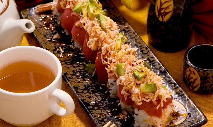 Fuji Sushi - Ventura - San Buenaventura (Ventura): Japanese Cuisine for Lunch or Dinner at Fuji Sushi (Up to 45% Off)