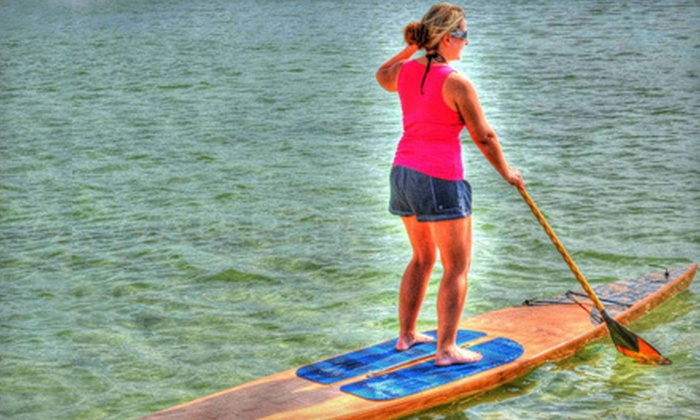 Tampa Bay SUP - Multiple Locations: One-Hour Standup-Paddleboarding Lesson for One, Two, or Four from Tampa Bay SUP (Half Off)