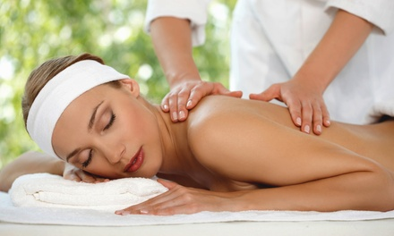 One or Two Groupons, Each Good for a One-Hour Swedish or Hawaiian Massage (Up to 55% Off)