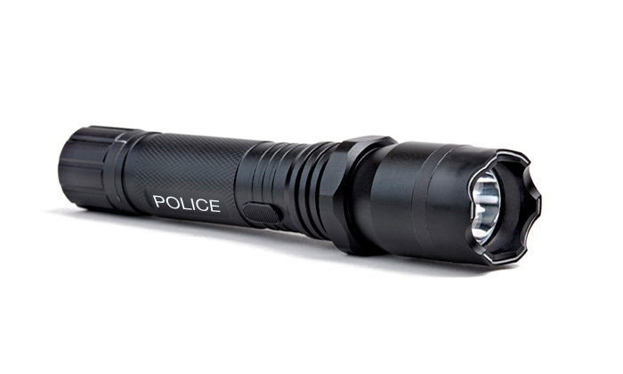 Groupon Goods: Police Flashlight Taser For R189 Including Delivery (50% Off)