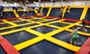 Sky High Sports - Miramar: Trampoline Jump Time or Trampoline Dodge-Ball Court Rental at Sky High Sports (Up to 52% Off). Three Options Available.