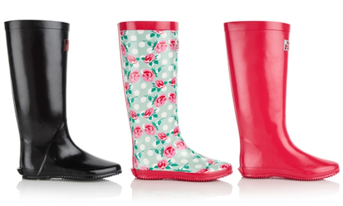 Groupon Goods Global GmbH: Foldable Wellies for €26.99 With Free Delivery (63% Off)