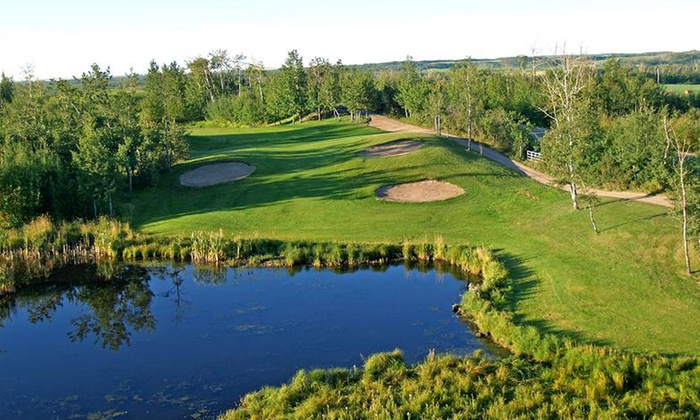 Whispering Pines Golf & Country Club Resort - Pinelake: Golf Outing for Two or Four with Range Balls at Whispering Pines Golf & Country Club Resort (Up to 60% Off)