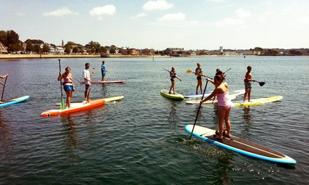[Paddleboard Tour for Two or Four from Cape Ann SUP (Up to 58% Off) Image]