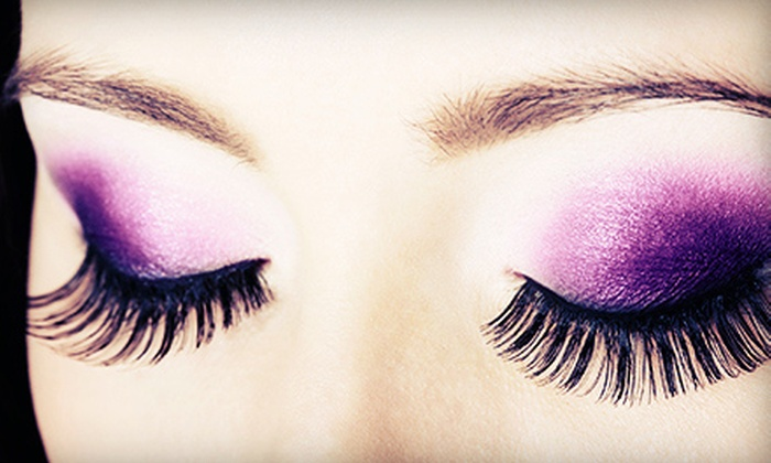 Lash Addict by Sherri Wu - Toronto: 35 or 55 Synthetic Mink Synthetic Eyelash Extensions with Option of Re-Lash at Lash Addict by Sherri Wu (Up to 68% Off)