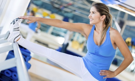 Five Barre Classes or One Month of Unlimited Barre Classes at Barre Tone (Up to 56% Off)