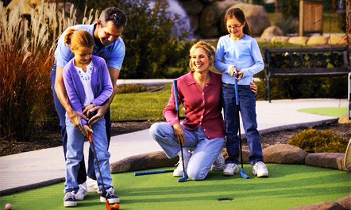 Malt-Tees Mini Golf - Richfield: $15 for Mini Golf with Concessions Credit for Up to Four at Malt-Tees Mini Golf (Up to $38 Value)
