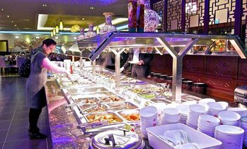 All-you-can-eat Asia-Buffet