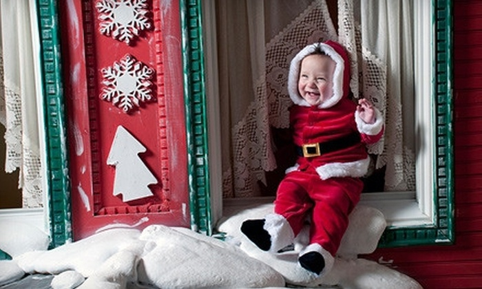 Ashton Photography - Sanford: $25 for a Holiday Portrait Session with 10 Holiday Cards and 3 Portrait Sheets at Ashton Photography ($90.85 Value)