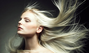 Andrea Infante at Youssef's Hair Boutique: Cut and Optional Colour or Partial Highlights from Andrea Infante at Youssef's Hair Boutique (Up to 55% Off)