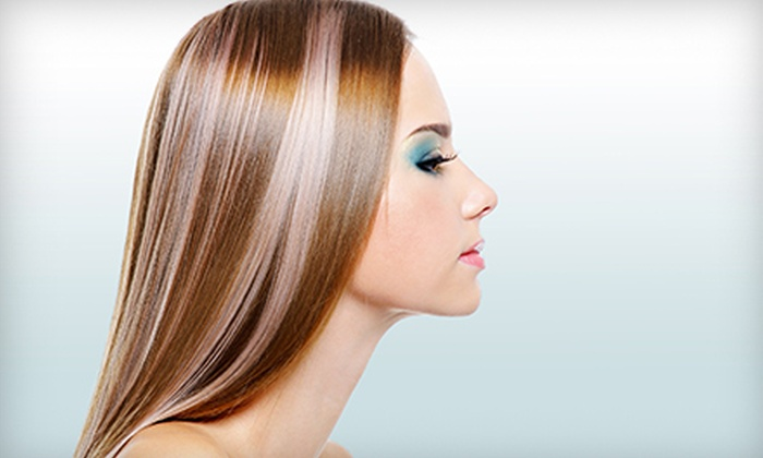 Color Correction Salon - Central Oklahoma City: Haircut with Color Retouch or Full Highlights at Color Correction Salon (Up to 53% Off)