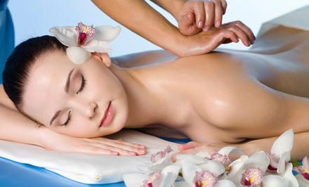Massage and Body-Wrap Packages at Massage & Holistic Therapy (Up to 55% Off). Three Options Available.