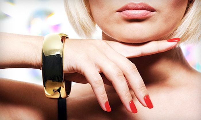 Tansation Tanning Salon - Normanview West: $34 for One Set of Gel Nails at Tansation Tanning Salon ($68 Value)