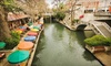 Crowne Plaza San Antonio Riverwalk (REBRANDED as Wyndham) - Downtown: One- or Two-Night Stay for Two with Two Welcome Drinks at Crowne Plaza San Antonio Riverwalk in San Antonio