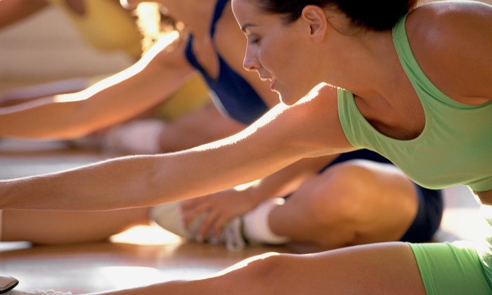 Steve Nash Fitness World - Victoria Fitness World: $29 for a Month of Group Fitness Classes and Gym Access with T-shirt or Bag at Steve Nash Fitness World ($105 Value)