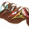 Unze Women's Flat Thong Sandals