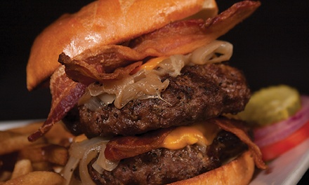 $25 for $40 Worth of Hearty American Food at BEER WORKS