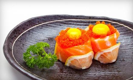 $40 Toward Food and Drink Sunday-Thursday - Live Sushi Mission, Live Sushi Bar, and Live Sushi Bistro in San Francisco