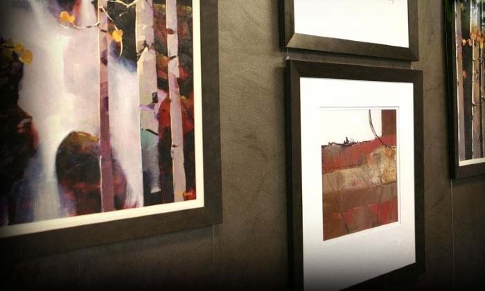 Riveting Frame & Design - Littleton: $25 for $100 Worth of Custom Retail Framing at Riveting Frame & Design