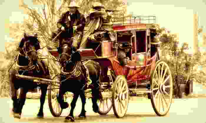 MacDonald's Ranch - Scottsdale: Authentic Stagecoach Ride for Two or Four at Macdonald Ranch (Up to 53% Off)