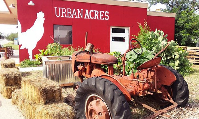 Urban Acres - East Kessler: $12 for $20 Worth of Groceries, Merchandise, and Farm-to-Table Cuisine at Urban Acres