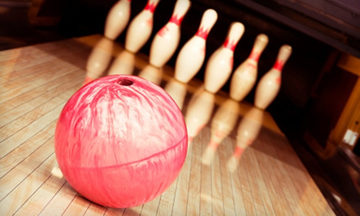 Sparetimes - Colliseum Central: Bowling Package for Two or Four with Two Games, Pizza, and Soda at Sparetimes in Hampton (Up to 54% Off)
