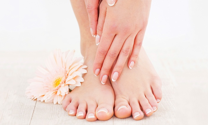 Envy Nail - Uptown: $35 for a Classic Mani-Pedi with Paraffin Wax at Envy Nails ($65 Value)