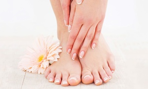 Beauty Bar Salon & Spa: One or Two Deluxe Spa Mani-Pedis or One Gel Manicure and Spa Pedicure at Beauty Bar Salon & Spa (Up to 46% Off)