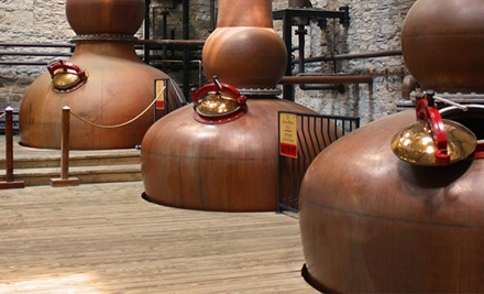 Four-Hour Distillery and Wine Tour with Tastings for One, Two, or Four from Niagara Fun Tours (Up to 68% Off)