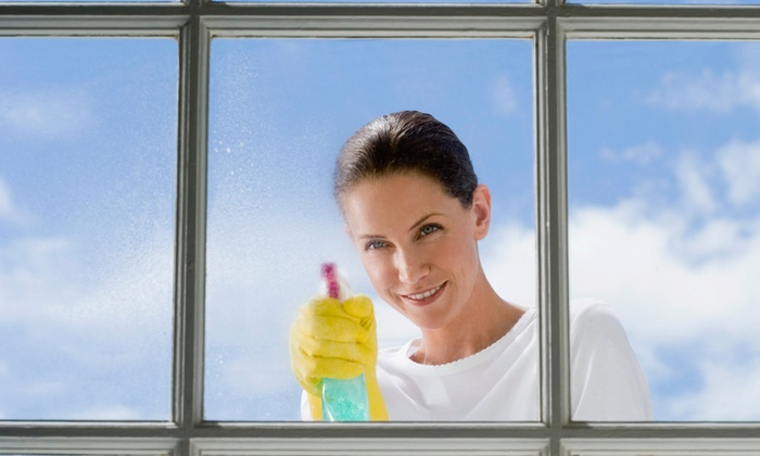 Ms. Shine Window Washers - San Francisco: Window Washing Up to the Third Floor of a Home from Ms. Shine Window Washers (Up to 64% Off). Three Options Available.