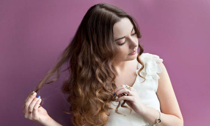 Posh Salon - Denise Kill Salon: Haircut with Optional Color or Highlights at Posh Salon (Up to 56% Off)
